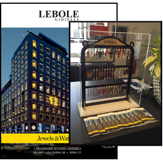 The Lebole Gioielli Collections at The Brian & Barry Building