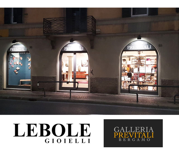 Lebole Gioielli Boutique at the Previtali Gallery, Bergamo