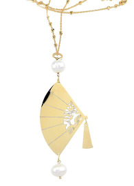 big-pearl-engraved-fan-necklace