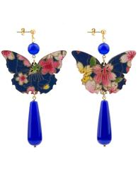 butterfly-silk-blue-long-drop-earrings