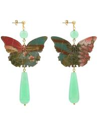 butterfly-silk-jade-green-long-drop-earrings