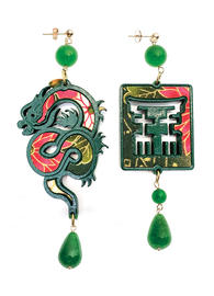 silk-dragon-earrings-and-small-green-lacquer-4363