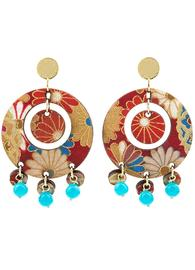 earrings-tan-mono-round-light-blue
