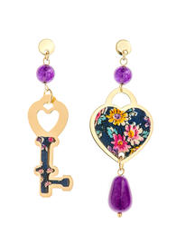 mini-violet-heart-and-key-earrings