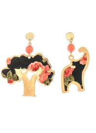 faceted-pink-elephant-and-baobab-mini-earrings