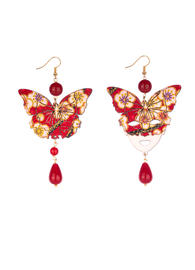 butterfly-earrings-and-large-ruby-silk-mask