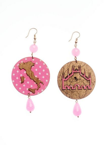 large-pink-milano-earrings
