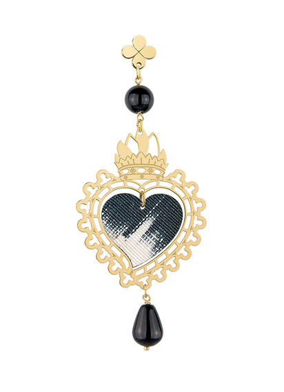 small-black-silk-single-heart-earring