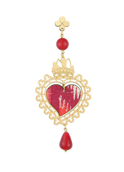 small-red-silk-single-heart-earring