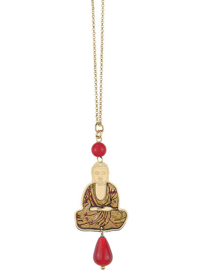 red-mini-necklace-buddha