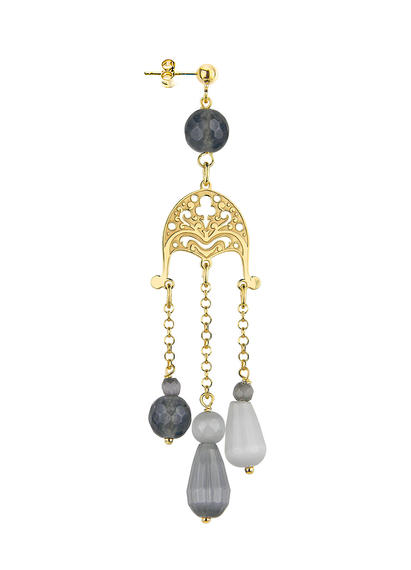 dome-earring-with-gray-stones