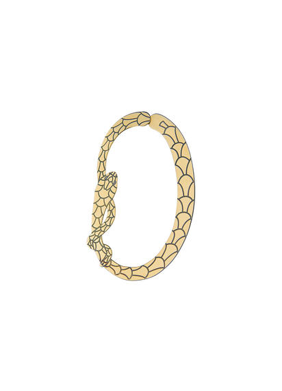 mini-oval-single-snake-earring