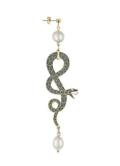 small-silver-pearl-rolled-snake-earring