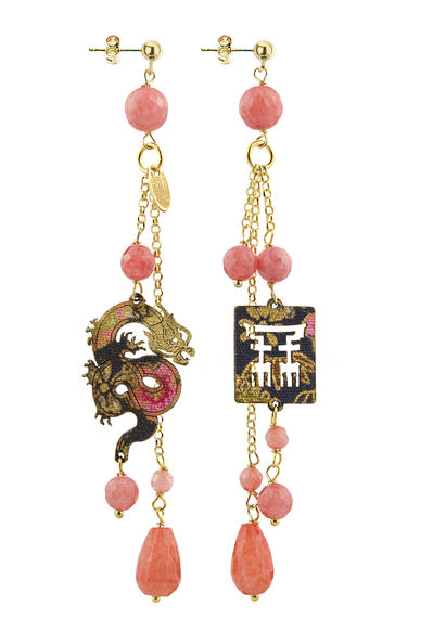 mini-mito-earrings-with-pink-pendants-black