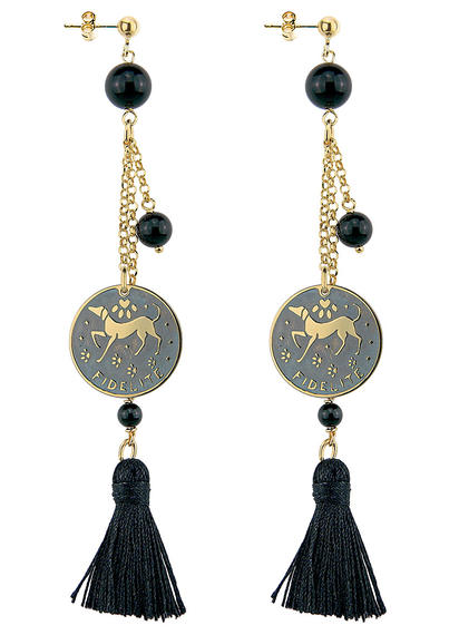 earrings-fidelite-black-tuft