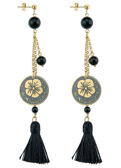 earrings-oubliez-black-tuft