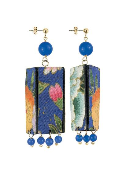 earrings-lantern-silk-small-leather-blue