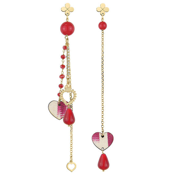 heart-earrings-and-ruby-chain