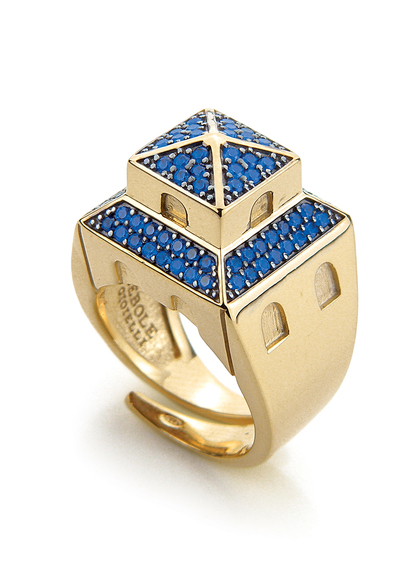 leopolda-ring-golden-silver-and-blue-zirconia