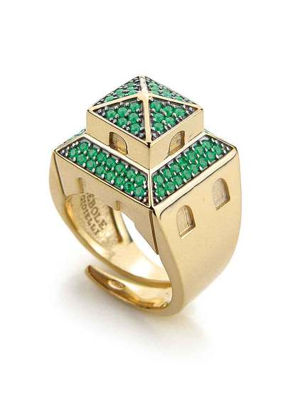 leopolda-ring-golden-silver-and-green-zirconia