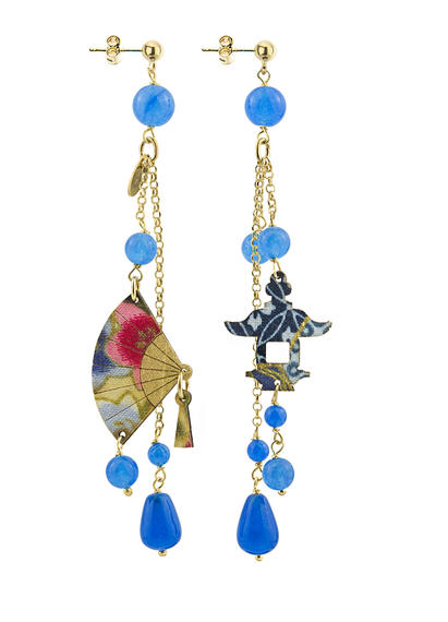 light-blue-long-fan-earring-with-pendants-4314