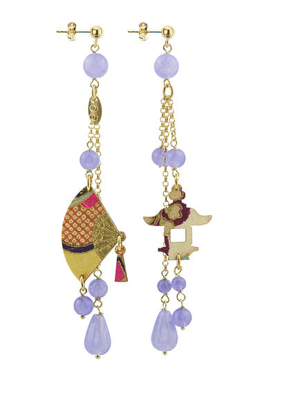 lilac-long-fan-earring-with-pendants