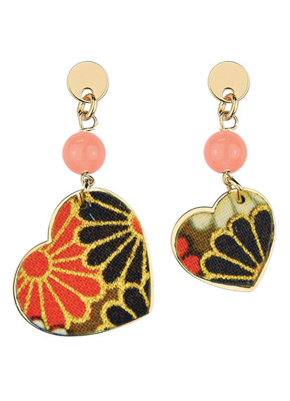 kokoro-mini-orange--earrings