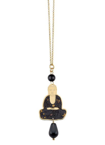 black-mini-necklace-buddha