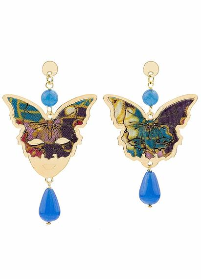butterfly-and-mask-mini-silver-light-blue-earrings