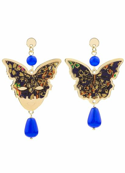 butterfly-and-mask-mini-silver-blue-earrings