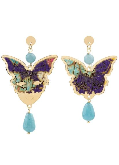 butterfly-and-mask-mini-silver-sky-blue-gradient-earrings