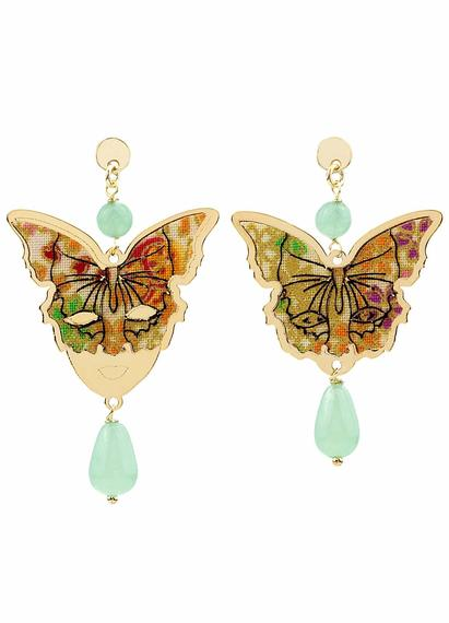 butterfly-and-mask-silver-mini-jade-green-earrings
