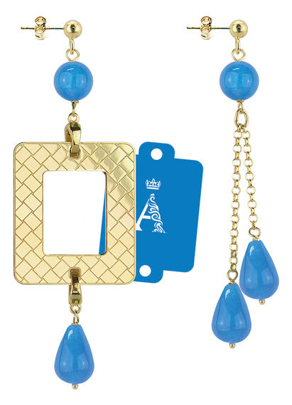 my-frame-blue-alphabet-earrings