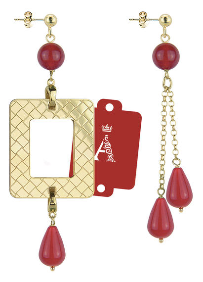 my-frame-red-alphabet-earrings