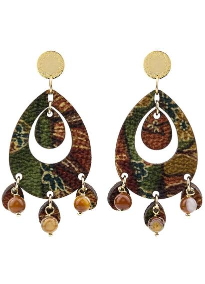 earrings-tan-mono-oval