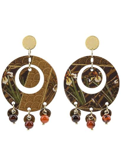 earrings-tan-mono-round-brown-3083