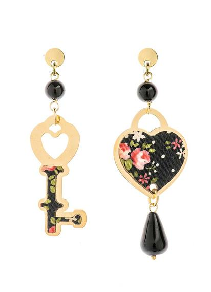 mini-black-heart-and-key-earrings