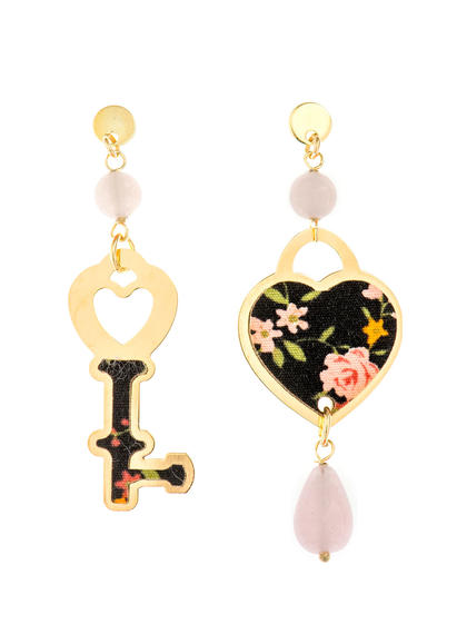 mini-pink-heart-and-key-earrings