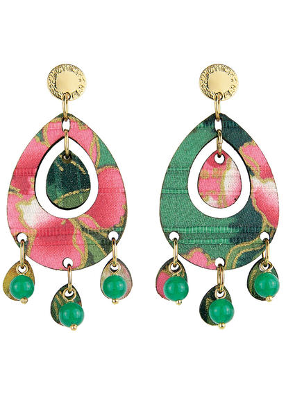 earrings-tan-mono-oval-green