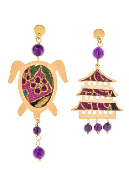 mini-purple-silver-turtle-earrings