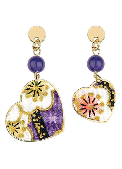 kokoro-mini-violet-earrings